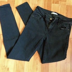 Abercrombie & Fitch super skinny high rise black